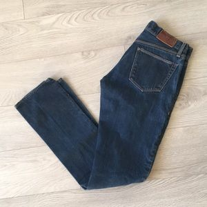 Madewell straight jeans